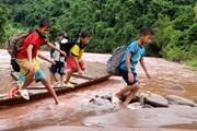 Lai Châu: Đi lại khó khăn, nhiều học sinh chưa thể đến trường