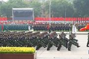 Quy định cấp bậc quân hàm cao nhất với lãnh đạo đơn vị thành lập mới