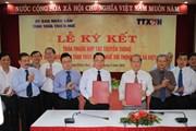 TTXVN và tỉnh Thừa Thiên-Huế ký thỏa thuận hợp tác truyền thông