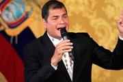 Interpol đình chỉ lệnh truy nã cựu Tổng thống Ecuador Rafael Correa