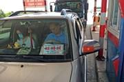 """Đề nghị Bộ Công an xử lý ôtô sử dụng biển """"xe hộ đê"""" giả"""
