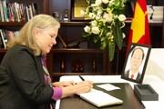 Hoạt động tưởng niệm Chủ tịch nước Trần Đại Quang tại Hoa Kỳ và Chile
