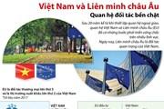 [Infographics] Việt Nam-Liên minh châu Âu: Quan hệ đối tác bền chặt