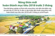 [Infographics] Nông thôn mới hoàn thành mục tiêu trước 3 tháng