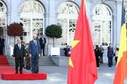 Hình ảnh về hoạt động của Thủ tướng Nguyễn Xuân Phúc tại Bỉ