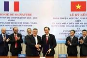 Thúc đẩy hợp tác giữa Thành phố Hồ Chí Minh và vùng Lyon của Pháp