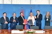 Việt Nam-EU ký Hiệp định đảm bảo gỗ xuất châu Âu có nguồn hợp pháp