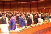 Hình ảnh trước giờ khai mạc Kỳ họp thứ 6, Quốc hội khóa XIV