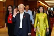 Những hình ảnh về kỳ họp thứ sáu, Quốc hội khóa XIV