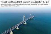 [Infographics] Trung Quốc khánh thành cầu vượt biển dài nhất thế giới