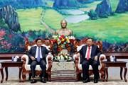 Lào muốn Việt Nam tiếp tục giúp đào tạo cán bộ kiểm tra Đảng