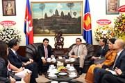 Lãnh đạo TP Hồ Chí Minh chúc mừng 65 năm Ngày Độc lập Campuchia