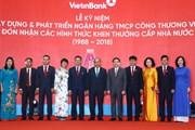 Thủ tướng Nguyễn Xuân Phúc dự lễ kỷ niệm 30 năm thành lập VietinBank