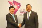 Campuchia cam kết hỗ trợ bà con gốc Việt tái định cư ở Biển Hồ