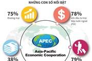 [Infographics] Vai trò của các nền kinh tế APEC đối với Việt Nam