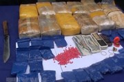 Bắt đối tượng vận chuyển 12 bánh heroin và 36.000 viên ma túy
