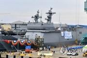 Hải quân Hàn Quốc hạ thủy tàu huấn luyện đầu tiên, tải trọng 4.500 tấn