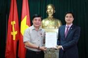 Ông Ngọ Duy Hiểu làm Chủ tịch Công đoàn Viên chức Việt Nam