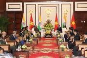 Hình ảnh Tổng thống Ấn Độ thăm cấp Nhà nước tới Việt Nam