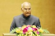 Tổng thống Ấn Độ Ram Nath Kovind phát biểu trước Quốc hội Việt Nam