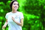 """Ca sỹ Mỹ Linh tiếp tục làm đại sứ chương trình """"Chạy vì trái tim"""""""