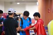 Đội tuyển Việt Nam về nước, chuẩn bị cho trận gặp Campuchia