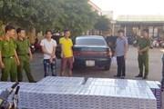 Phát hiện lái xe ôtô Camry vận chuyển 1.250 cây thuốc lá lậu