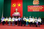 Phó Chủ tịch nước trao tặng 50 căn nhà tình nghĩa tại Vĩnh Long