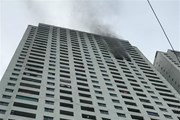 Hỏa hoạn tại tầng 31 chung cư Linh Đàm, chưa xác định thương vong