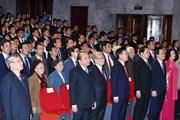 Hình ảnh Thủ tướng dự Đại hội đại biểu toàn quốc Hội sinh viên