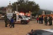 Nổ pháo hoa tại một nhà thờ ở Mexico, gần 60 người thương vong
