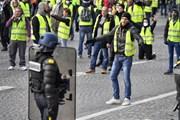 """Pháp: Số lượng người biểu tình """"Áo vàng"""" giảm mạnh so với tuần trước"""