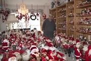 Một phụ nữ Na Uy luôn đón Giáng Sinh với hơn 2.000 ông già Noel