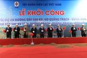 Phó Thủ tướng phát lệnh khởi công đường dây 500 kV mạch 3