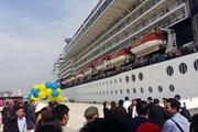 Vị khách quốc tế thứ 15 triệu đến Việt Nam bằng tàu biển