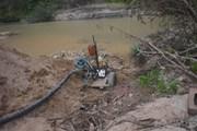 Bị phạt hành chính trên 150 triệu đồng vì khai thác cát trái phép
