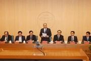 Thủ tướng chủ trì hội nghị về đề án chính quyền đô thị Hà Nội