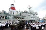 Kết thúc thành công chuyến thăm, chúc Tết quân và dân Trường Sa