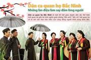 Dân ca quan họ Bắc Ninh: Những làn điệu làm say đắm lòng người