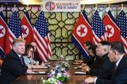 [Photo] Hình ảnh cuộc gặp mở rộng giữa phái đoàn Mỹ-Triều Tiên