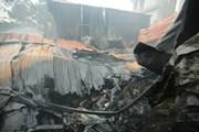 Hiện trường vụ hỏa hoạn tại Trung Văn khiến 8 người chết và mất tích