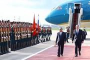 Hình ảnh Thủ tướng Nguyễn Xuân Phúc tại thủ đô Moskva của Nga