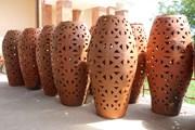 Ngắm dòng sản phẩm mới của làng gốm Bàu Trúc ở Ninh Thuận