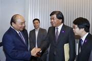 Hình ảnh Thủ tướng đến Tokyo dự lễ đăng quang của Nhà Vua Nhật Bản