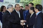[Photo] Thủ tướng dự Hội nghị tập huấn phương án điều tra doanh nghiệp