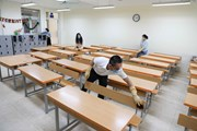 [Photo] Hà Nội bảo đảm an toàn cho học sinh THCS, THPT đi học trở lại