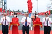 [Photo] Thủ tướng dự lễ thông xe kỹ thuật nút giao Nam Cầu Bính