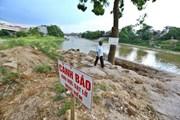 [Photo] Hà Nội công bố tình trạng sạt lở trên sông Bùi, sông Đáy