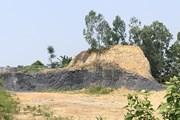 [Photo] Đất đồi tại Ba Vì bị 'băm nát' do khai thác tùy tiện