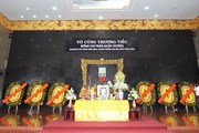 Hình ảnh lễ viếng đồng chí Trần Quốc Hương tại Thành phố Hồ Chí Minh